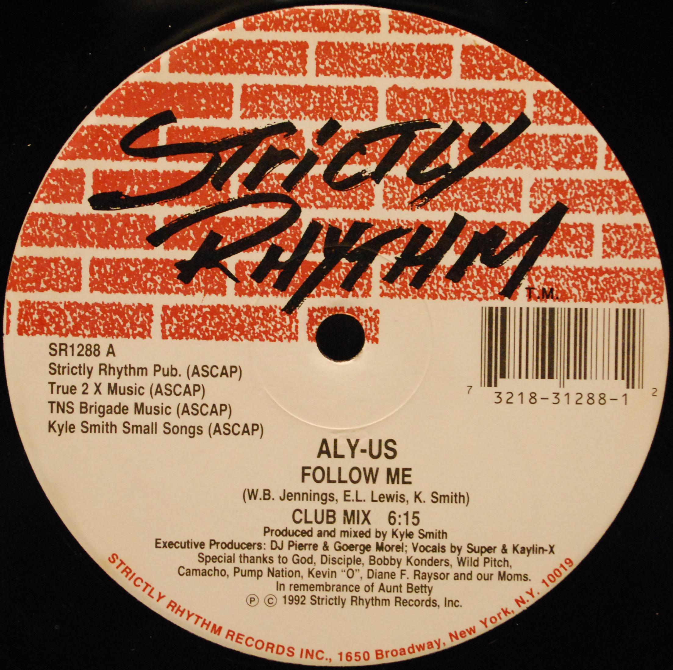 Aly-Us - Follow Me (Remixes)