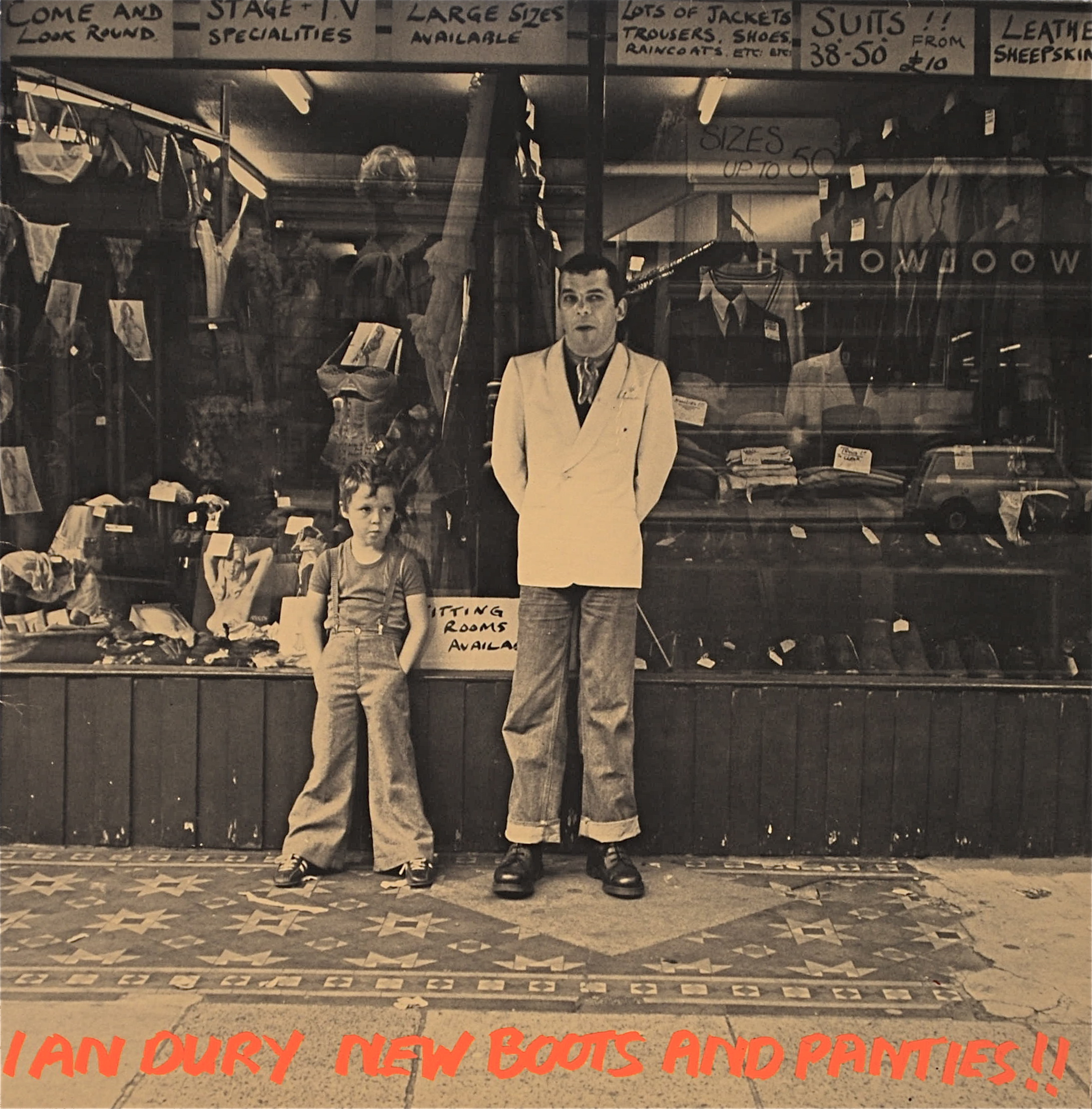 Ian Dury Wake Up And Make Love With Me Trevor Clever